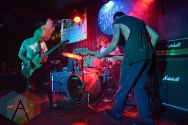 Mexican Slang performing at The Silver Dollar in Toronto, ON on June 20, 2015 during NXNE 2015. (Photo: Steve Danyleyko/Aesthetic Magazine