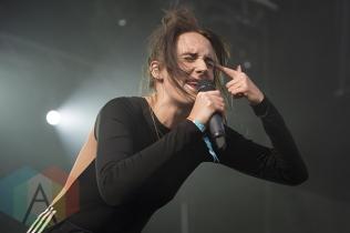 MØ performing at Secret Solstice 2015 in Reykjavík, Iceland on June 21st, 2015. (Photo: Damien Gilbert/Aesthetic Magazine)