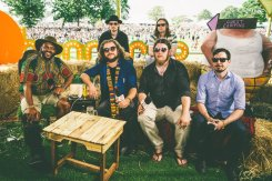 My Morning Jacket at the Bonnaroo Music Festival in Manchester, TN on June 12, 2015. (Photo: Pooneh Ghana)