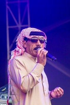 Omar Souleyman performing at Bestival Toronto in Toronto, ON on June 12, 2015. (Photo: Stevie Gedge)