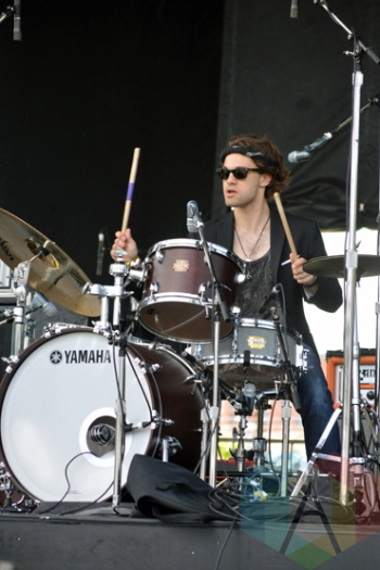 Professor H and The Bandits performing at Field Trip 2015 in Toronto, ON on June 7, 2015. (Photo: Justin Roth/Aesthetic Magazine)