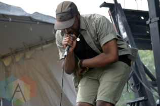 Keita Juma and Brenden Phillip performing at Field Trip 2015 in Toronto, ON on June 7, 2015. (Photo: Justin Roth/Aesthetic Magazine)