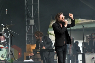 Father John Misty performing at Field Trip 2015 in Toronto, ON on June 7, 2015. (Photo: Justin Roth/Aesthetic Magazine)