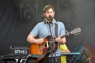 Dan Mangan + Blacksmith performing at Field Trip 2015 in Toronto, ON on June 7, 2015. (Photo: Justin Roth/Aesthetic Magazine)