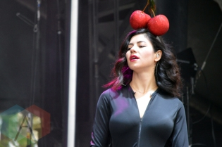 Marina and The Diamonds performing at Field Trip 2015 in Toronto, ON on June 7, 2015. (Photo: Justin Roth/Aesthetic Magazine)