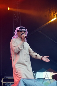 Omar Souleyman performing at Bestival Toronto in Toronto, ON on June 12, 2015. (Photo: Justin Roth/Aesthetic Magazine)