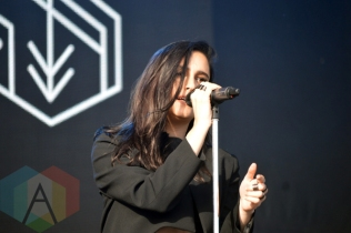 Banks performing at Bestival Toronto in Toronto, ON on June 13, 2015. (Photo: Justin Roth/Aesthetic Magazine)