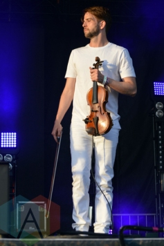 Owen Pallett performing with Caribou at Bestival Toronto in Toronto, ON on June 13, 2015. (Photo: Justin Roth/Aesthetic Magazine)