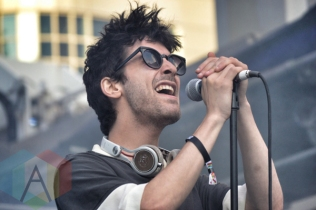 Doldrums performing at Yonge-Dundas Square in Toronto, ON on June 19, 2015 during NXNE 2015. (Photo: Justin Roth/Aesthetic Magazine)