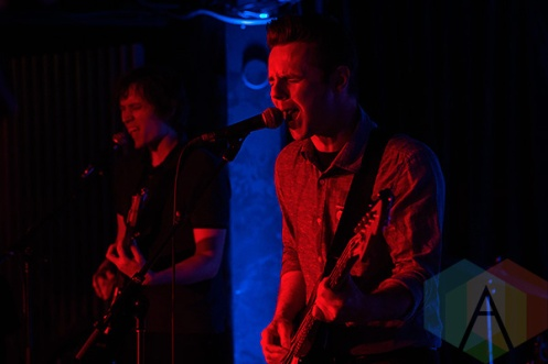 Pow Wows performing at Adelaide Hall in Toronto on June 16, 2015. (Photo: Theo Rallis/Aesthetic Magazine)