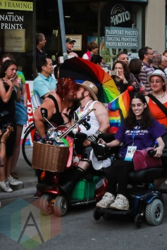 Trans Pride March at Pride Toronto 2015 on June 26, 2015. (Photo: Lindsay Duncan/Aesthetic Magazine)