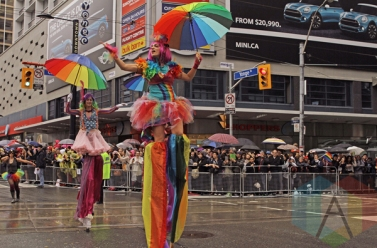 Toronto Pride Parade during Pride Toronto 2015 on June 28, 2015. (Photo: Samantha Wood/Aesthetic Magazine)