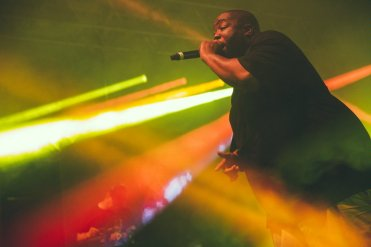 Run The Jewels performing at the Bonnaroo Music Festival in Manchester, TN on June 12, 2015. (Photo: Erik Voake)