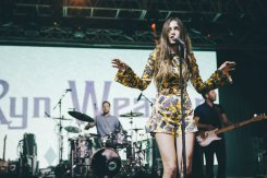 Ryn Weaver performing at the Bonnaroo Music Festival in Manchester, TN on June 11, 2015. (Photo: Joe Gall)