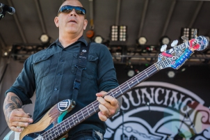 Bouncing Souls performing at Amnesia Rockfest in Montebello, QC on June 19, 2015. (Photo: Scott Penner/Aesthetic Magazine)