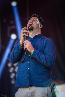 Deftones performing at Amnesia Rockfest in Montebello, QC on June 19, 2015. (Photo: Scott Penner/Aesthetic Magazine)