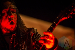 Ministry performing at Amnesia Rockfest in Montebello, QC on June 19, 2015. (Photo: Scott Penner/Aesthetic Magazine)