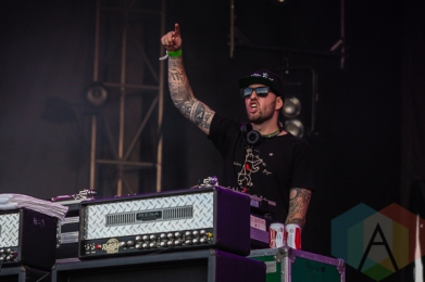 Sublime With Rome performing at Amnesia Rockfest in Montebello, QC on June 19, 2015. (Photo: Scott Penner/Aesthetic Magazine)