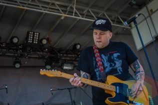 The Ataris performing at Amnesia Rockfest in Montebello, QC on June 19, 2015. (Photo: Scott Penner/Aesthetic Magazine)