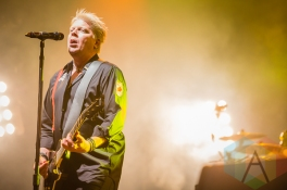 The Offspring performing at Amnesia Rockfest in Montebello, QC on June 19, 2015. (Photo: Scott Penner/Aesthetic Magazine)
