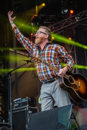 Flogging Molly performing at Amnesia Rockfest in Montebello, QC on June 20, 2015. (Photo: Scott Penner/Aesthetic Magazine)