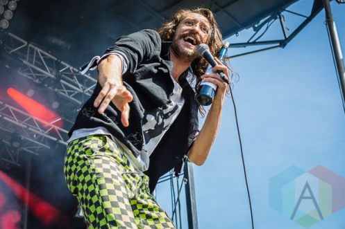 Gogol Bordello performing at Amnesia Rockfest in Montebello, QC on June 20, 2015. (Photo: Scott Penner/Aesthetic Magazine)