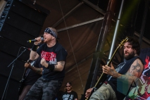 Hatebreed performing at Amnesia Rockfest in Montebello, QC on June 20, 2015. (Photo: Scott Penner/Aesthetic Magazine)