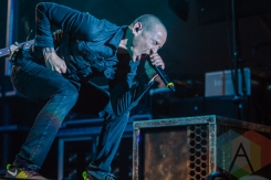 Linkin Park performing at Amnesia Rockfest in Montebello, QC on June 19, 2015. (Photo: Scott Penner/Aesthetic Magazine)