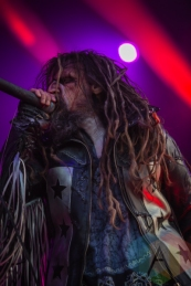 Rob Zombie performing at Amnesia Rockfest in Montebello, QC on June 20, 2015. (Photo: Scott Penner/Aesthetic Magazine)