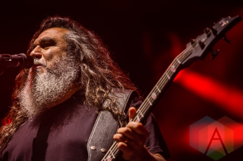 Slayer performing at Amnesia Rockfest in Montebello, QC on June 20, 2015. (Photo: Scott Penner/Aesthetic Magazine)
