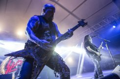 Slayer performing at the Bonnaroo Music Festival in Manchester, TN on June 13, 2015. (Photo: Erik Voake)