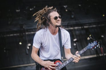 Soja performing at the Bonnaroo Music Festival in Manchester, TN on June 12, 2015. (Photo: Joe Gall)