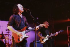Tears For Fears performing at the Bonnaroo Music Festival in Manchester, TN on June 12, 2015. (Photo: Erik Voake)