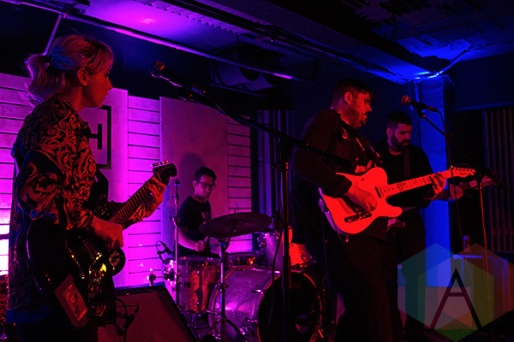 Tough Age performing at Adelaide Hall in Toronto on June 16, 2015. (Photo: Theo Rallis/Aesthetic Magazine)