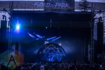 Deadmau5 performing at FVDED in the Park in Holland Park in Surrey, BC. (Photo: Amy Ray/Aesthetic Magazine)