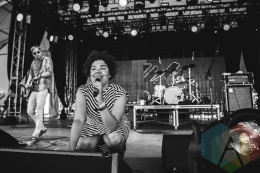 Weaves performing at Wayhome Festival on July 26, 2015. (Photo: Rick Clifford/Aesthetic Magazine)