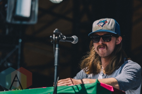 The Sheepdogs performing at Wayhome Festival on July 26, 2015. (Photo: Rick Clifford/Aesthetic Magazine)
