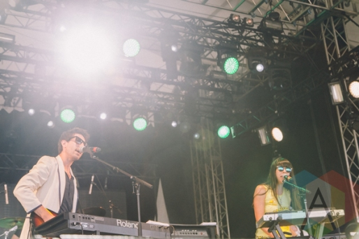 Brave Shores performing at Wayhome Festival on July 26, 2015. (Photo: Rick Clifford/Aesthetic Magazine)