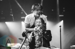 July Talk performing at Wayhome Festival on July 26, 2015. (Photo: Rick Clifford/Aesthetic Magazine)
