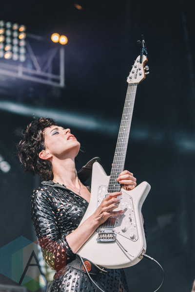 St. Vincent performing at Wayhome Festival on July 26, 2015. (Photo: Rick Clifford/Aesthetic Magazine)