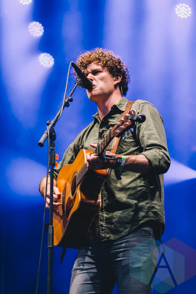 Vance Joy performing at Wayhome Festival on July 26, 2015. (Photo: Rick Clifford/Aesthetic Magazine)