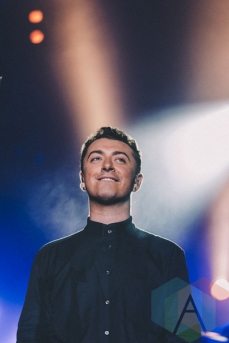 Sam Smith performing at Wayhome Festival on July 26, 2015. (Photo: Rick Clifford/Aesthetic Magazine)