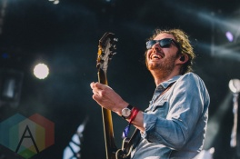 Hozier performing at Wayhome Festival on July 24, 2015. (Photo: Rick Clifford/Aesthetic Magazine)