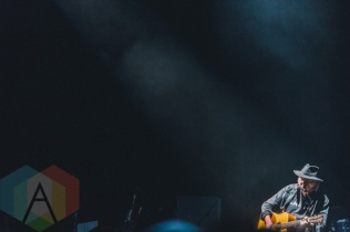 Neil Young performing at Wayhome Festival on July 24, 2015. (Photo: Rick Clifford/Aesthetic Magazine)