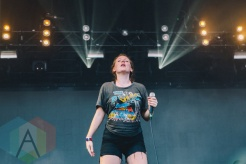 Sylvan Esso performing at Wayhome Festival on July 24, 2015. (Photo: Rick Clifford/Aesthetic Magazine)