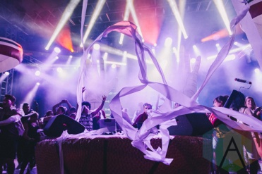 Girl Talk performing at Wayhome Festival on July 24, 2015. (Photo: Rick Clifford/Aesthetic Magazine)