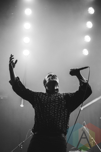 Future Islands performing at Wayhome Festival on July 24, 2015. (Photo: Rick Clifford/Aesthetic Magazine)