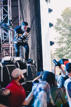 G-Eazy performing at Wayhome Festival on July 25, 2015. (Photo: Rick Clifford/Aesthetic Magazine)