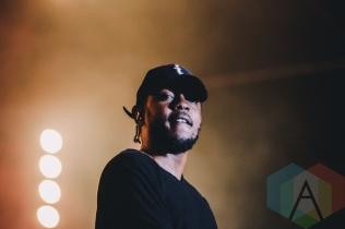 Kendrick Lamar performing at Wayhome Festival on July 25, 2015. (Photo: Rick Clifford/Aesthetic Magazine)