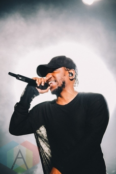 Kendrick Lamar performing at Wayhome Festival on July 25, 2015. (Photo: Rick Clifford/Aesthetic Magazine)